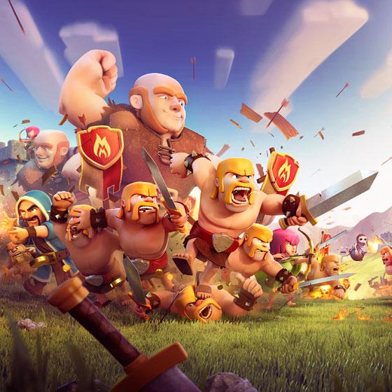 Suscripción a clan de nivel 5 en Clash of Clans