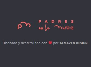 Padres en la Nube - Baner - Almazen Design - Diseño web
